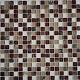 Мозаика стеклянная с камнем 15*15 мм