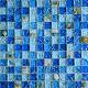 Мозаика стеклянная с камнем 23*23 мм
