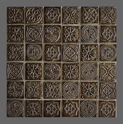 Мозаика керамическая, серо-зеленый отлив KG4803 - фото 4850