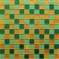 Мозаика стеклянная, желто-зеленая F41.30.25.58 - фото 4879