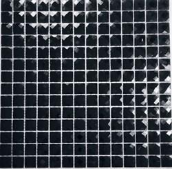 Мозаика стеклянная, черный алмаз F2x6 - фото 5069