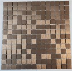 Мозаика алюминиевая, бронзовый отлив LP04C - фото 5258