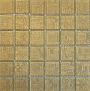 Мозаика стеклянная, золото инков ST068