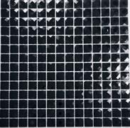 Мозаика стеклянная, черный алмаз F2x6