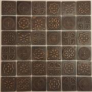 Мозаика керамическая, бронзовый отлив KG4802